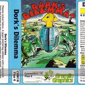 Dorks Dilemma Cassette Inlay